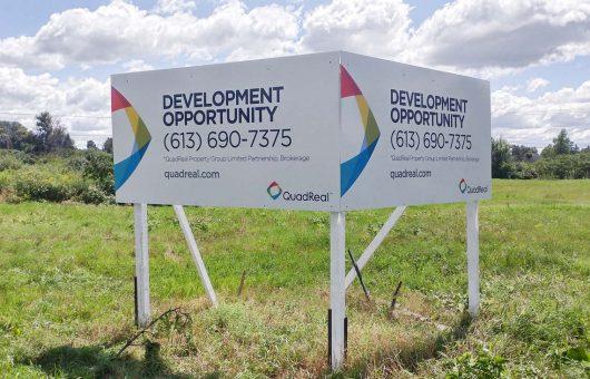 Billboard sign for QuadReal