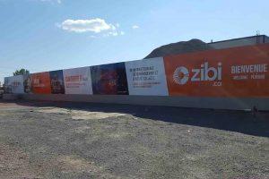 Construction Hoarding for Zibi