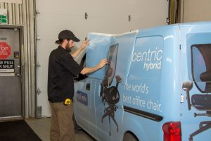 Custom Vehicle Graphics for ergoCentric