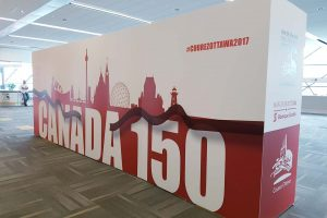 Display Signs for Canada 150