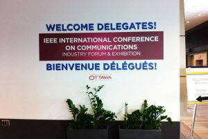 Display Signs for IEEE conference