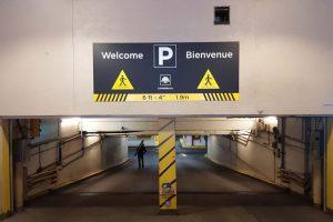 Wayfinding Parking Sign