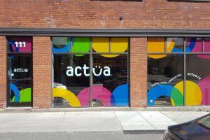 Window treatment for Actua