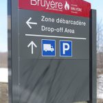 Bruyère Continuing Care wayfinding sign