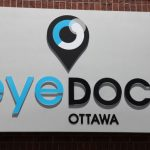 Custom 3D graphics for EyeDocs Ottawa